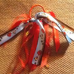 Angry Birds ribbon elastic