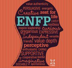 ENFP=Ne, Fi, Te, & Si