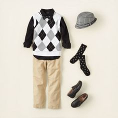 argyle guy outfit for boy church outfit for kids, argyl, boy stuff, church outfits for boys, church outfits for kids, children, boy easter, boy outfits, hat