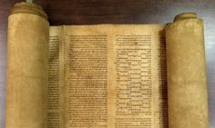 The world's oldest complete scroll of the Torah containing the full text of the first five books of scripture. Experts and carbon dating tests done in Italy and United States put the scroll as having been written between 1155 and 1255.  Identified by Professor  of Hebrew, Mauro Perani, at the University of Bologna, Italy, May 2013.