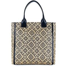 Cleo Tribal Tote ($119) ❤ liked on Polyvore
