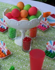 Children's Easter Table...so cute!