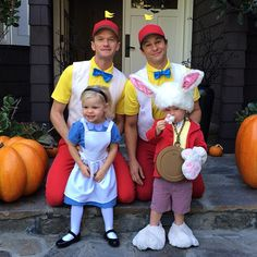 "via Suri's Burn Book: ""The Burtka-Harrises are doing Halloween better than you. I mean, they're probably doing a lot of things better than you, but Halloween is definitely one of them."""