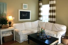 How to make a slipcover for a sectional sectional