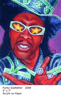 Funky Godfather (Bootsy Collins) by Scott Donaldson