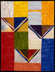 """South"" by Janet Steadman. quilt"