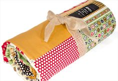 Button Quilted Layer Cake Throw | Sew4Home
