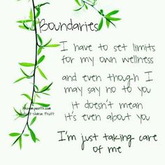 Maintaining these is difficult for an INFJ set boundari, chronic pain, life, fibromyalgia, stay true, care, inspir, quot, thing