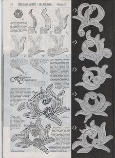 New Duplet Crochet Flower Patterns Dresses by RussianCrochetBooks, $6.99