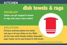 Find more Hot Spots at Home at www.CeliacCentral.org/hotspots