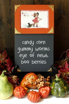 If you are looking for a fun Halloween DIY...check out our new Halloween Chalkboard DIY. It's quick...easy and makes a great seasonal home decor accessory!
