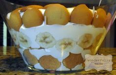 The BEST Banana Pudding EVER {thanks Paula}
