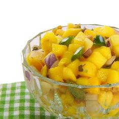 Mango salad for section 2 of world of girls
