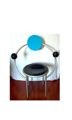 Memphis Design Michele De Lucchi First Chair on Etsy, $1,224.00