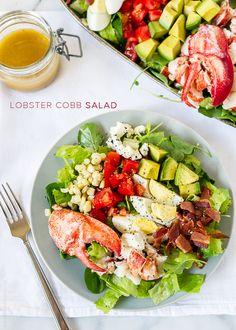 Lobster Cobb Salad   www.kitchenconfidante.com