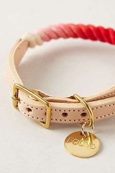Anthropologie - Ombre Dog Collar http://www.pinterest.com/emmagangbar/boards/