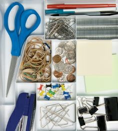 Clean up your junk drawer! Here's how to get organized and make the most of your space.