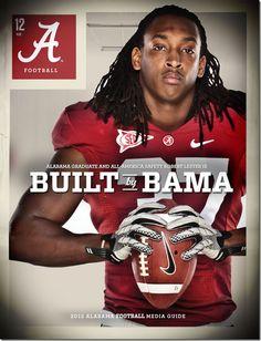 2012 University of Alabama 2012 media guide, Robert Lester version