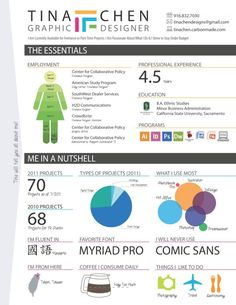 An Infographic Resume Infographic
