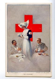 RED CROSS In Clover by Hal HURST