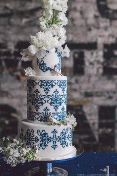 Veter Magazine #wedding cake
