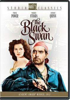 Availability: http://130.157.138.11/record=b3717790~S13 The Black Swan / Tyrone Power, screenplay by Ben Hecht and Seton I. Miller ; directed by Henry King. Pirate Morgan is pardoned and made the new governor of Jamaica on one condition - he must stop his fellow pirates from doing their criminal actions.