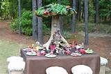 """This fairy """"house"""" centerpiece is so fantastic! Truly magical party ..."""
