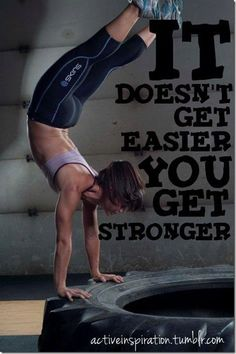 It doesnt get easier, you get stronger quotes quote strong fitness workout motivation stronger exercise motivate workout motivation exercise motivation fitness quote fitness quotes workout quote workout quotes exercise quotes