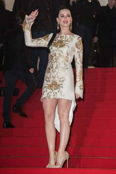 #KatyPerry waves to fans at the 15th NRJ Music Awards at #PalaisdesFestivals on December 14, 2013 in Cannes, France. See who else has been spotted here:  http://celebhotspots.com/hotspot/?hotspotid=27294&next=1