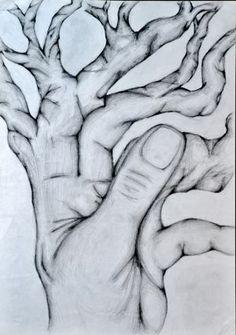 Artwork: 'Metamorphosis' by Nicollo Picello, A2 graphite