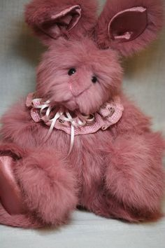 Just finished angora Bunny.  (always from recycled fur)  Wonderful color.  www.kimbearlys.com
