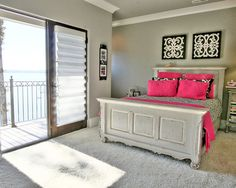 Bedroom Teen Girls Bedrooms Design, Pictures, Remodel, Decor and Ideas - page 37.  Like the headboard & footboard