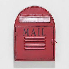 Mailbox Wall Décor - LOVE it!