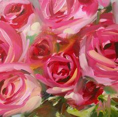 "Angela Moulton: ""Pink Roses no. 27."""