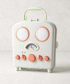 Sunny Life Beach Radio, $49.99, Anthropologie