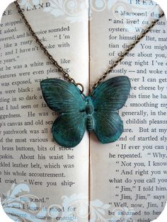 Butterfly necklace - $16.99