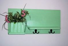 Wood Wall Shelf Shabby Cottage Chic  Furniture by daleswoodandmore, $56.00