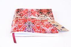 Bright Tribal Pattern Notebook by LiucijaTextiles