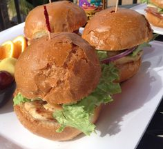 Check out this recipe for delicious Chicken Sliders from Glen Ivy's Executive Chef, Bill Wavrin. #recipes #bbq #SharingGoodFood