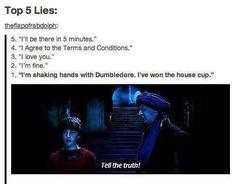 best lie ever.