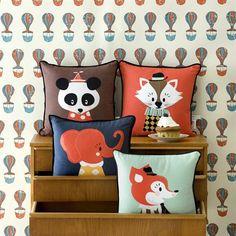 Ferm Living: animal cushions