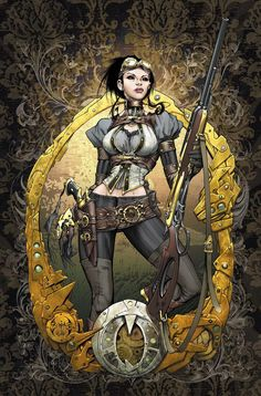 Lady Mechanika by Joe Benitez aka joebenitez on deviantart.com