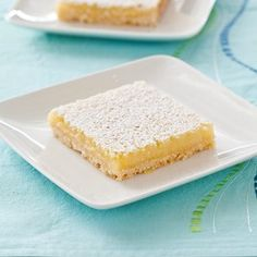 Reduced Fat Lemon Squares from Cooks Country Test Kitchen