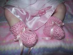 No-Sew Eight-Row Baby Booties