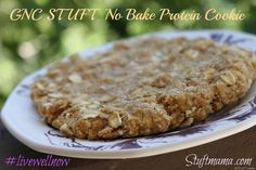 yum! no bake protein cookie #livewellnow @gnclivewell #fitfluential