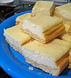 Vanilla Bean Cheesecake Bars