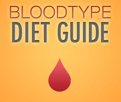 Blood Type Diet Guide