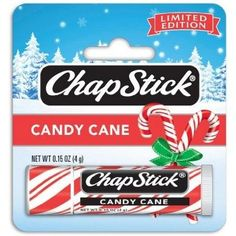 Candy Cane ChapStick  Why? because a whiff of peppermint naturally invigorates workouts!
