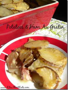 Potatoes & Ham Au Gratin
