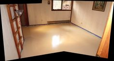 Painting A Particle Board Floor & Other Items